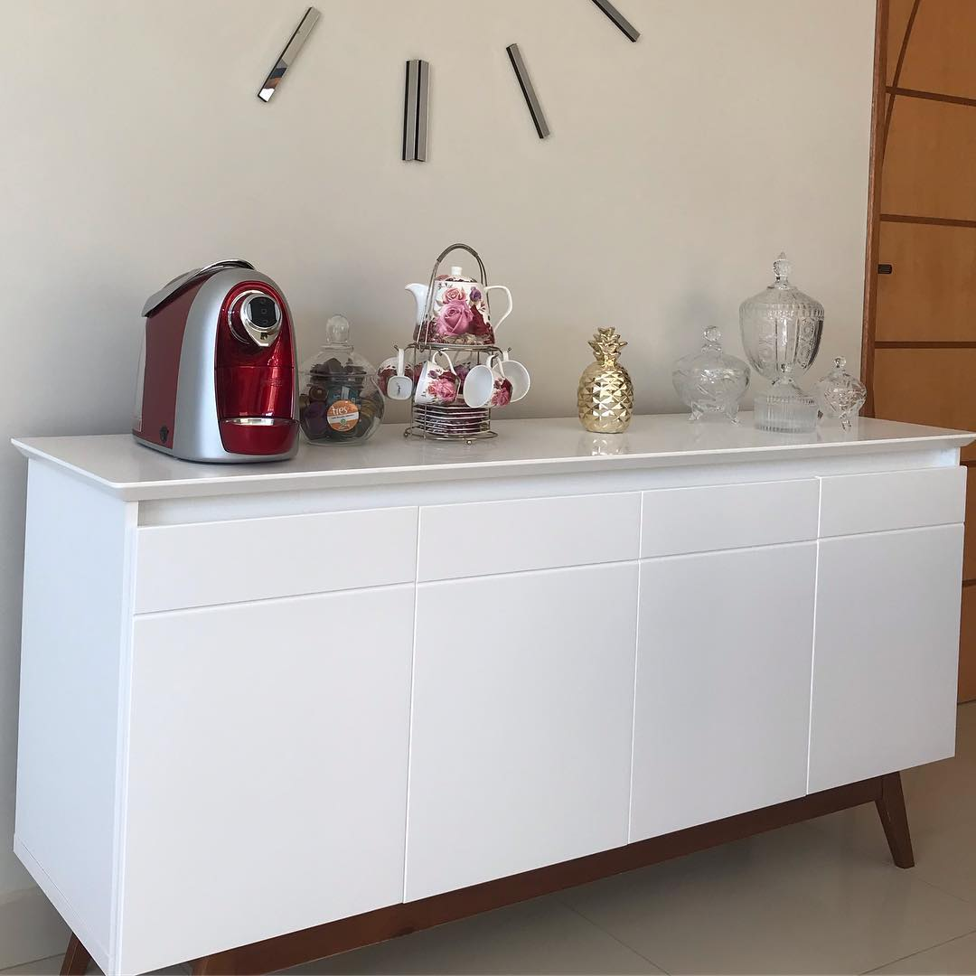 buffet simples decorado