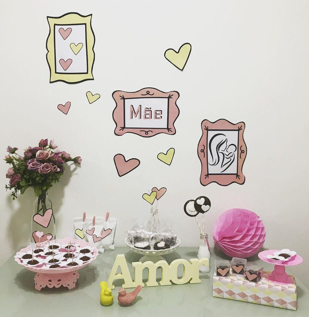 decoração dia das mães em casa