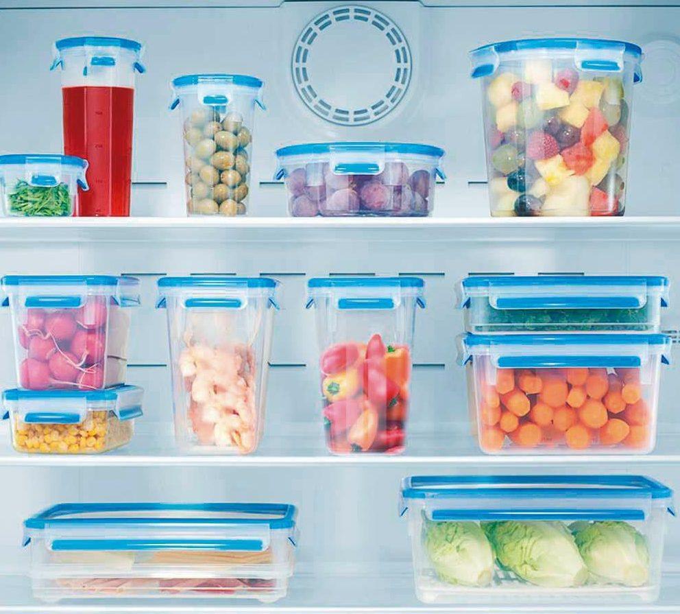 organizar geladeira com potes
