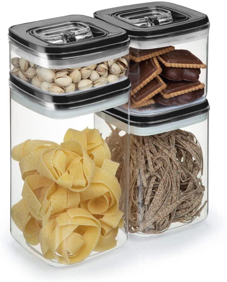 pote hermetico organizar cozinha