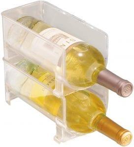 organizador garrafas na geladeira acrilico