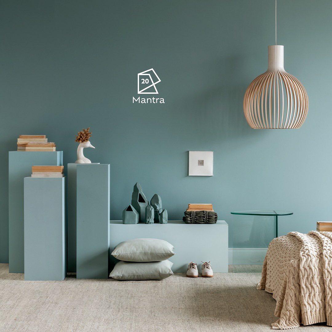 cor verde na parede