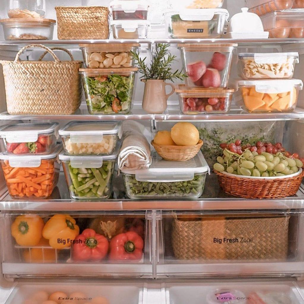 dicas organizar geladeira