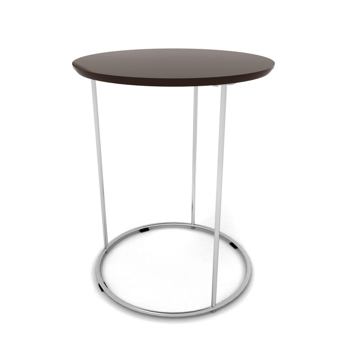 mesa lateral cromada