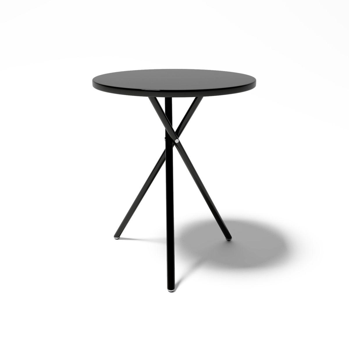mesa lateral preta moderna