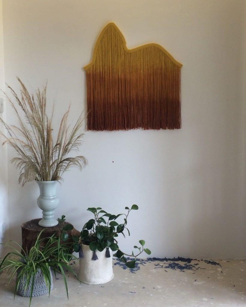 tapeçaria moderna na decoração