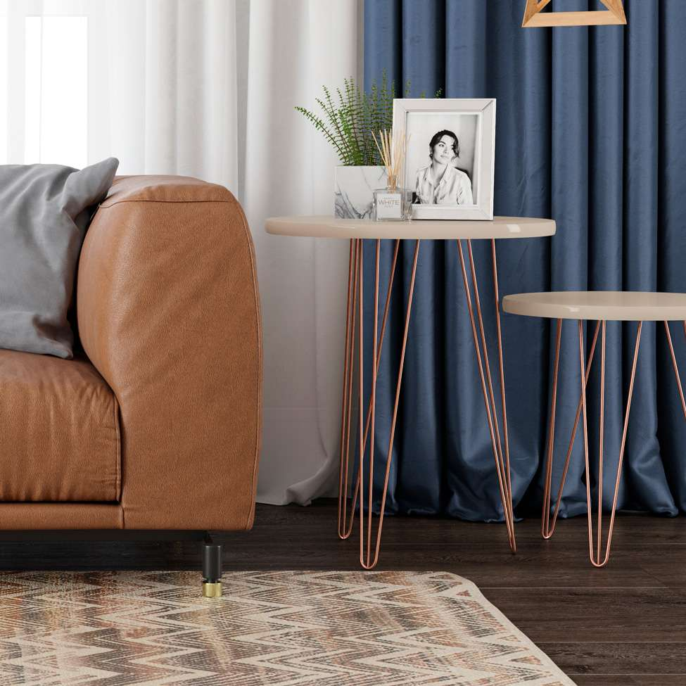 mesa lateral rose gold mobly