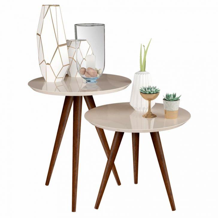 conjunto de mesa lateral