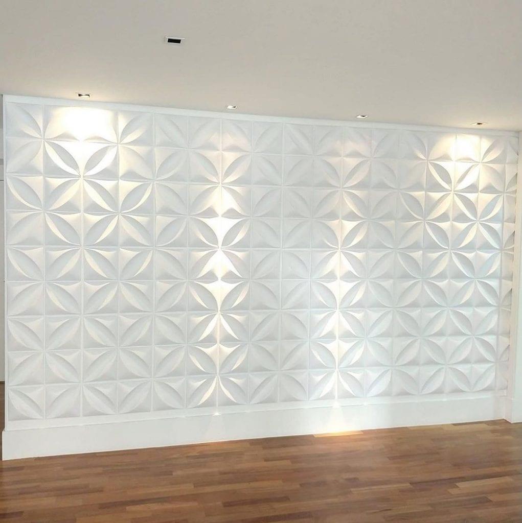revestimento 3D poliestireno PVC
