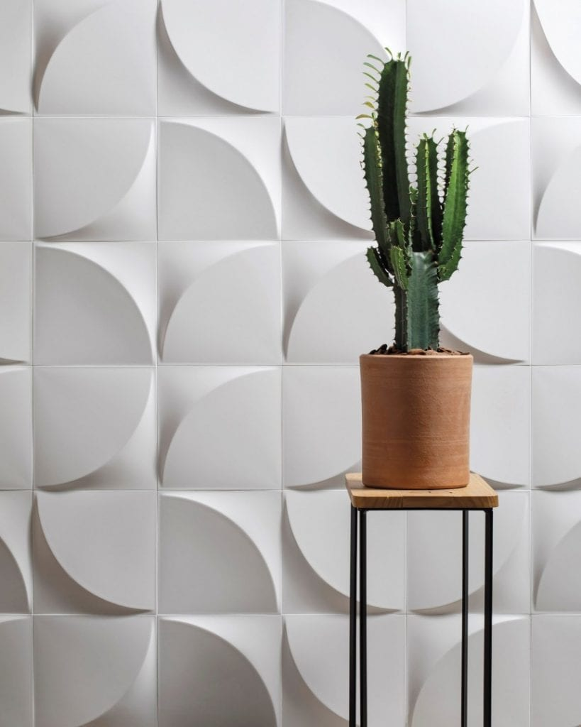 revestimento 3D piso ceramico