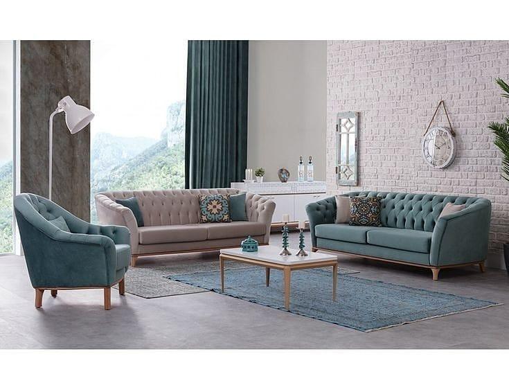 conjunto de sofa chesterfield