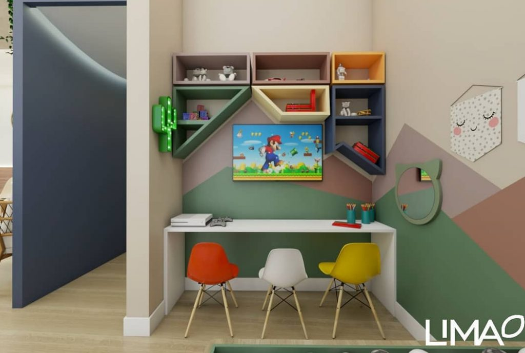 espaço kids em clinica odontologica