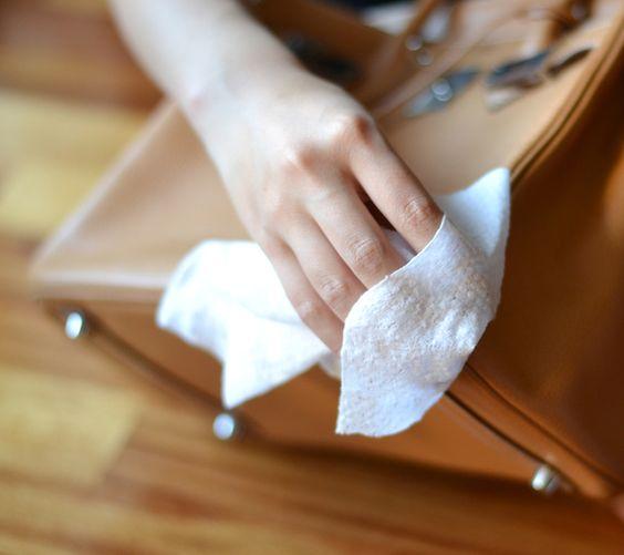 como limpar bolsas
