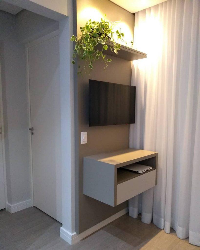 peperomia sala de apartamento pequeno
